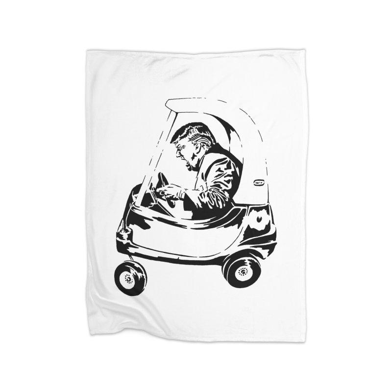 Trump Car(d) Home Blanket by StencilActiv's Shop