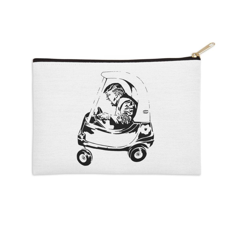 Trump Car(d) Accessories Zip Pouch by StencilActiv's Shop