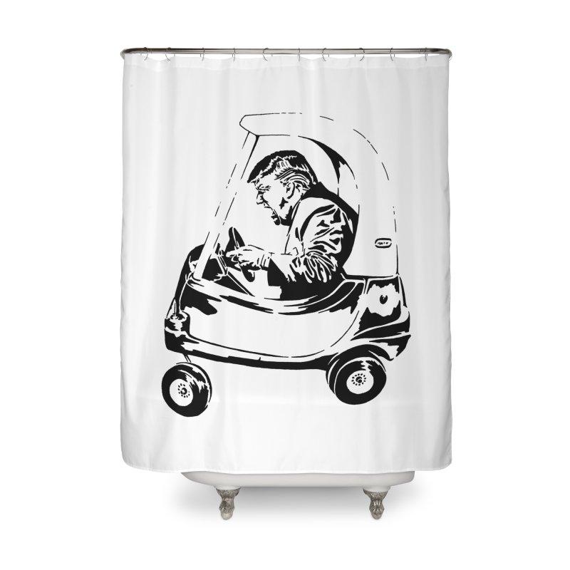 Trump Car(d) Home Shower Curtain by StencilActiv's Shop