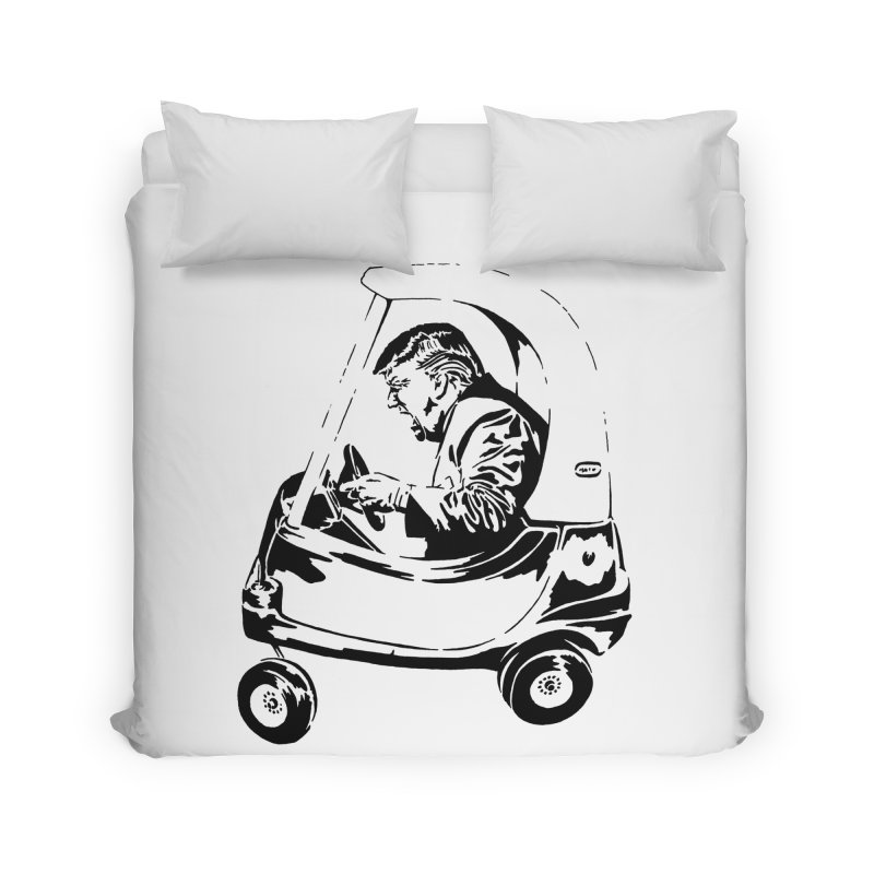 Trump Car(d) Home Duvet by StencilActiv's Shop
