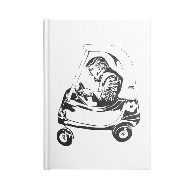 Trump Car(d) Accessories Notebook by StencilActiv's Shop