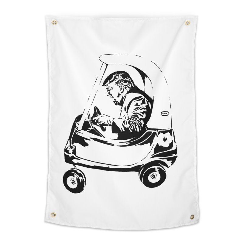 Trump Car(d) Home Tapestry by StencilActiv's Shop