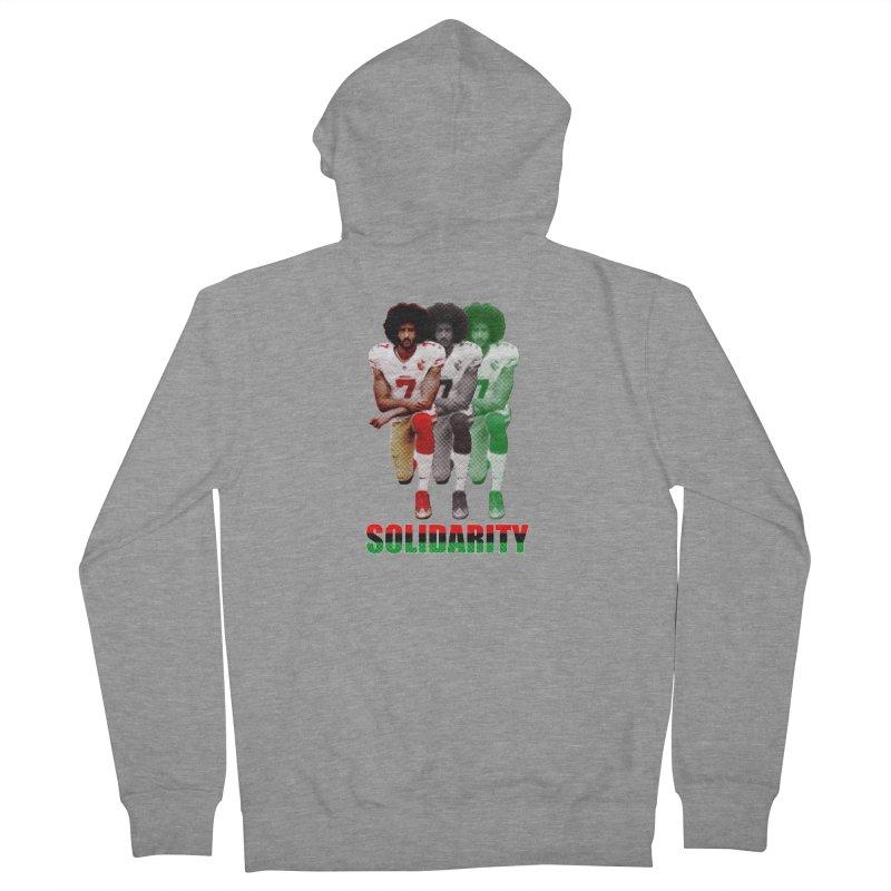 Solidarity Women's Zip-Up Hoody by StencilActiv's Shop