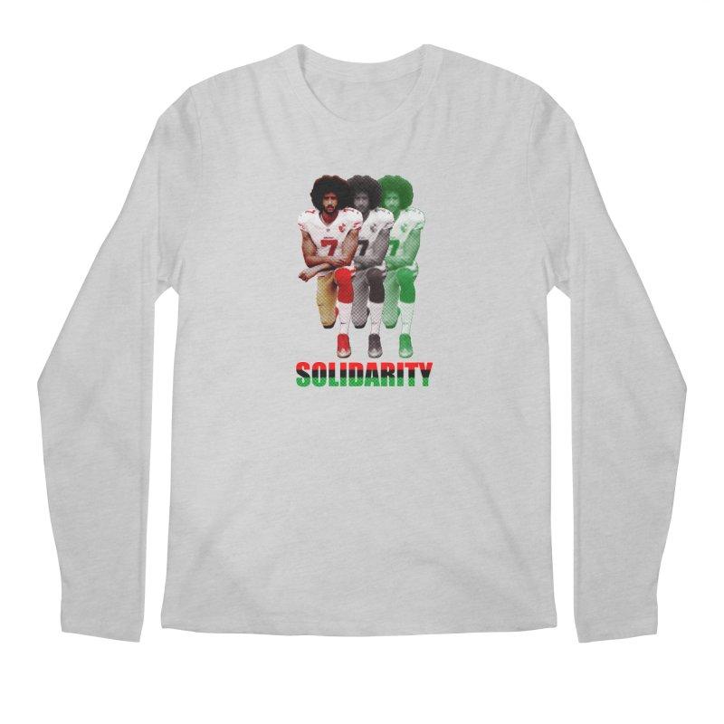 Solidarity Men's Longsleeve T-Shirt by StencilActiv's Shop