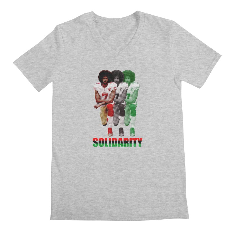 Solidarity Men's V-Neck by StencilActiv's Shop