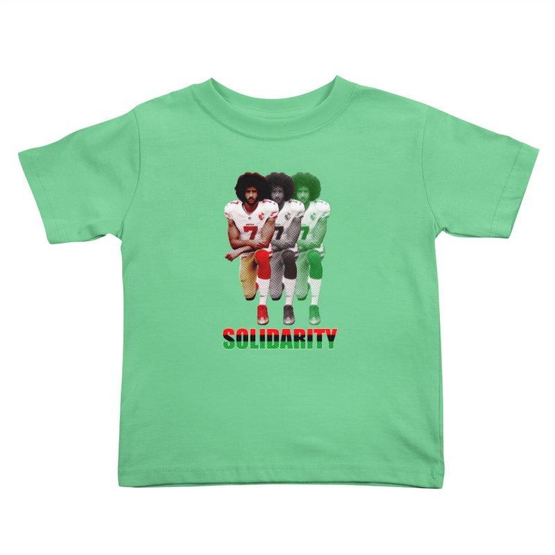 Solidarity Kids Toddler T-Shirt by StencilActiv's Shop