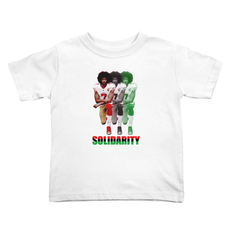 Solidarity Kids Toddler T-Shirt by StencilActiv's Shop