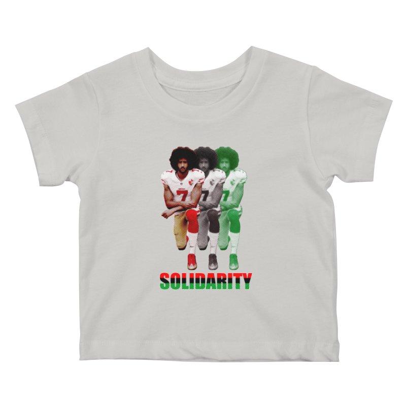 Solidarity Kids Baby T-Shirt by StencilActiv's Shop