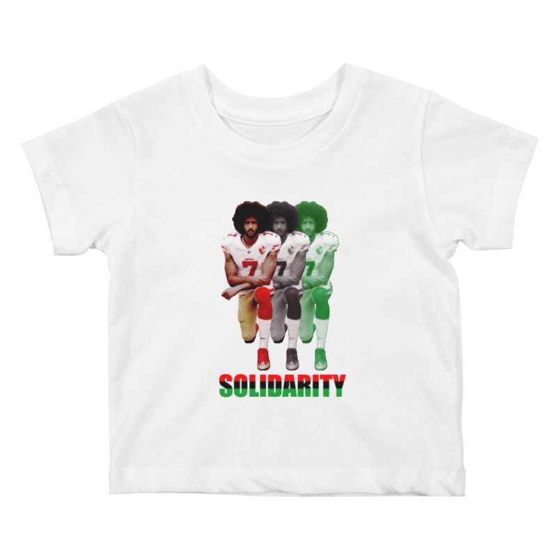 Solidarity Kids Baby T-Shirt by StencilActiv's Shop
