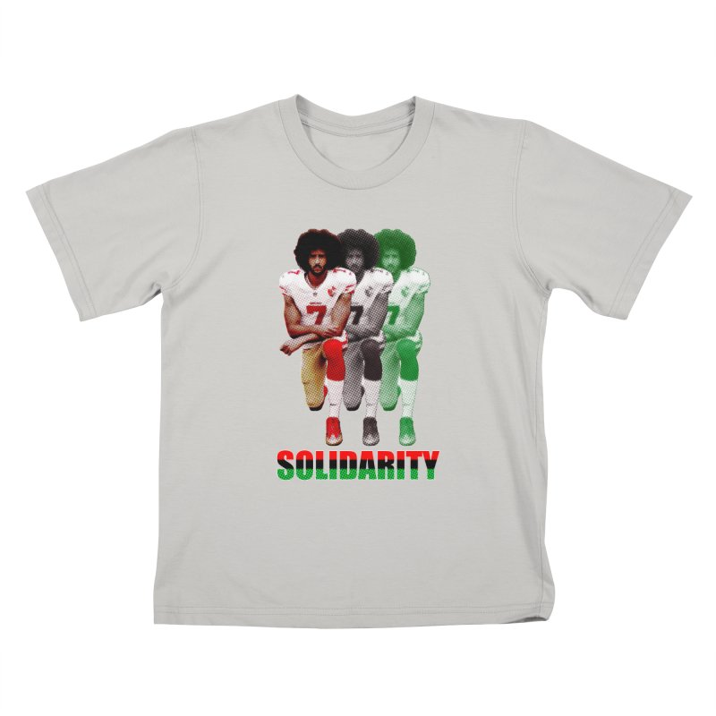 Solidarity Kids T-Shirt by StencilActiv's Shop