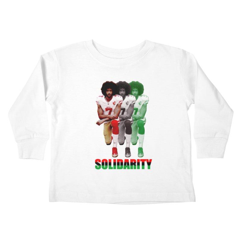 Solidarity Kids Toddler Longsleeve T-Shirt by StencilActiv's Shop