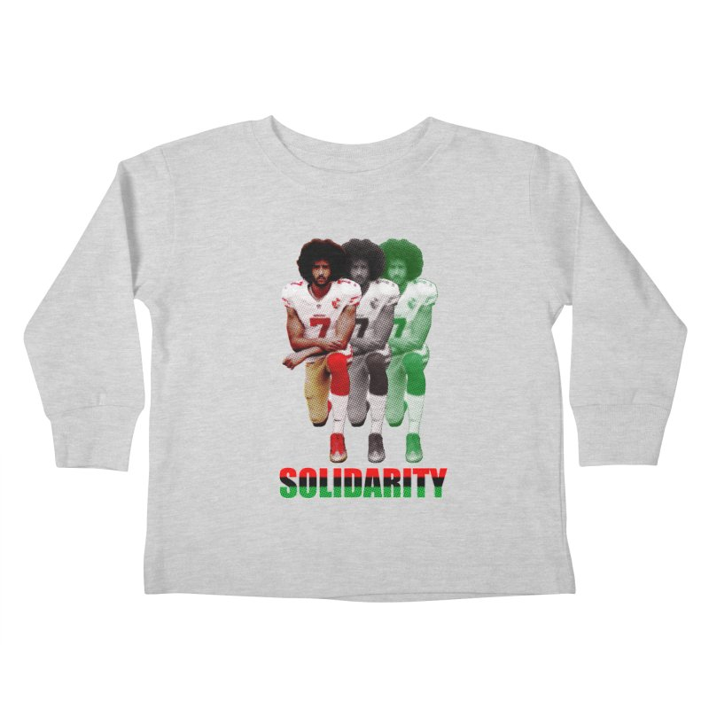 Solidarity Kids Toddler Longsleeve T-Shirt by StencilActiv's Shop