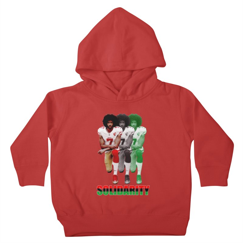 Solidarity Kids Toddler Pullover Hoody by StencilActiv's Shop