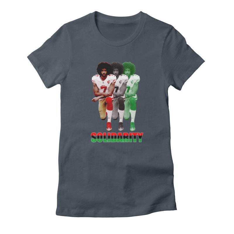 Solidarity Women's Fitted T-Shirt by StencilActiv's Shop