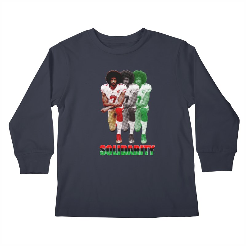 Solidarity Kids Longsleeve T-Shirt by StencilActiv's Shop