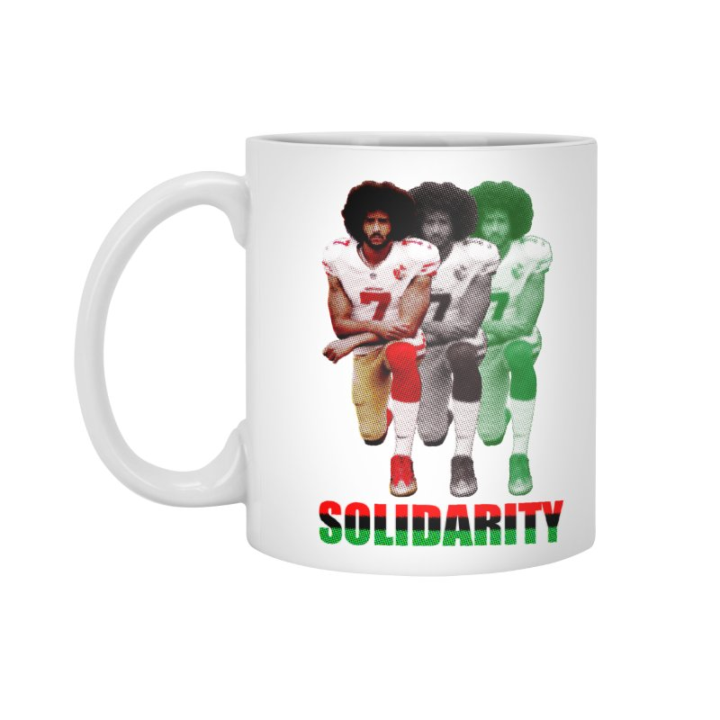 Solidarity Accessories Mug by StencilActiv's Shop