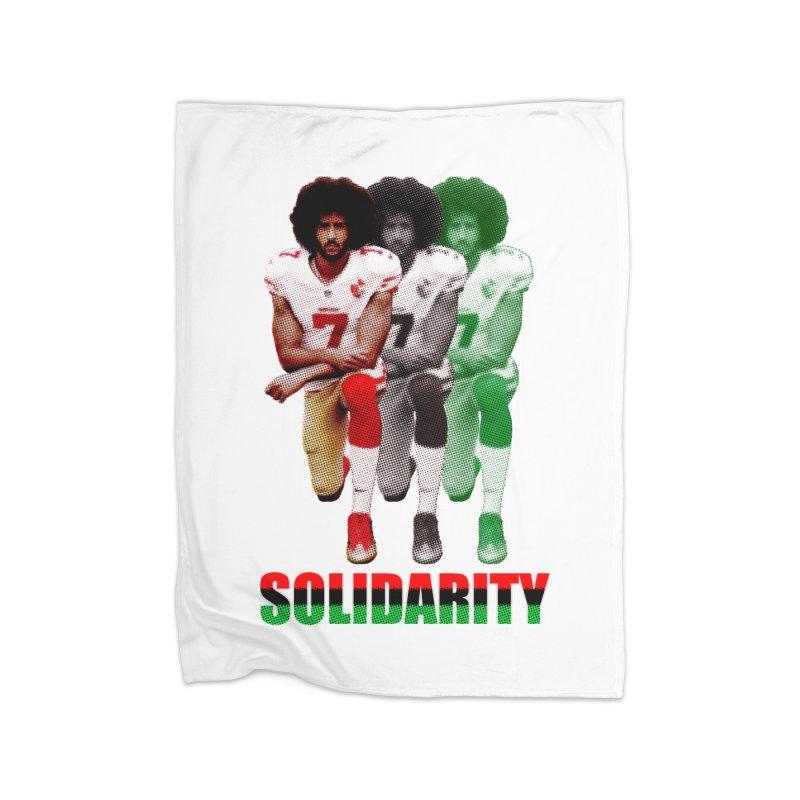 Solidarity Home Blanket by StencilActiv's Shop