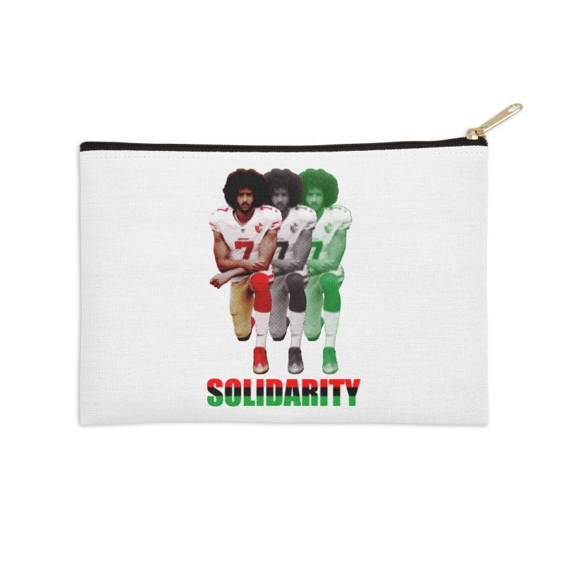 Solidarity Accessories Zip Pouch by StencilActiv's Shop
