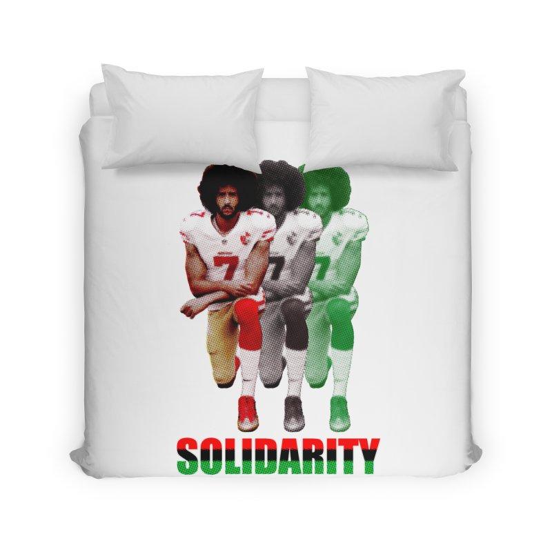 Solidarity Home Duvet by StencilActiv's Shop