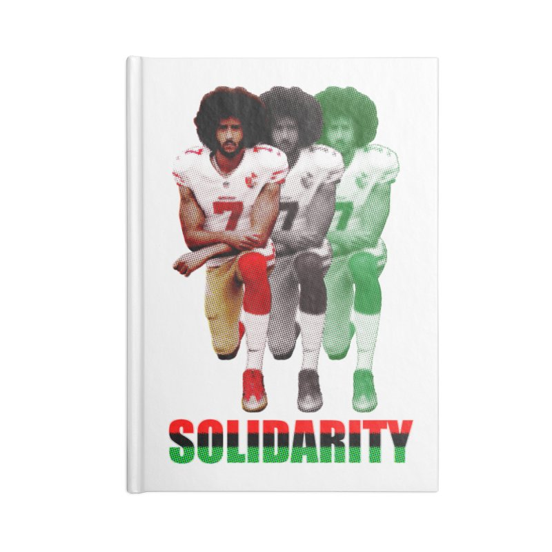 Solidarity Accessories Notebook by StencilActiv's Shop