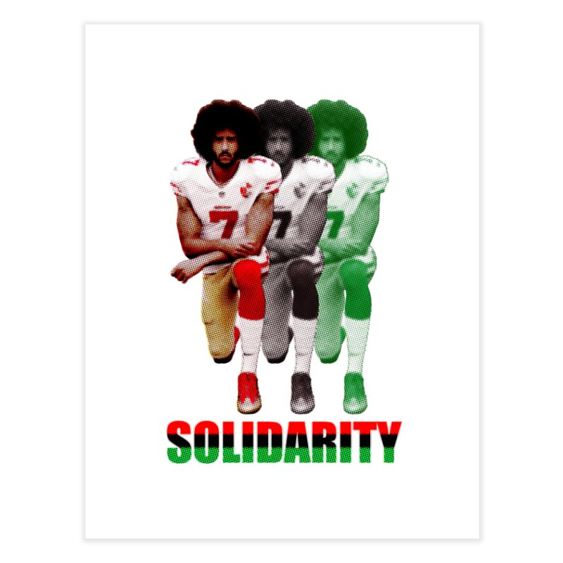 Solidarity Home Fine Art Print by StencilActiv's Shop