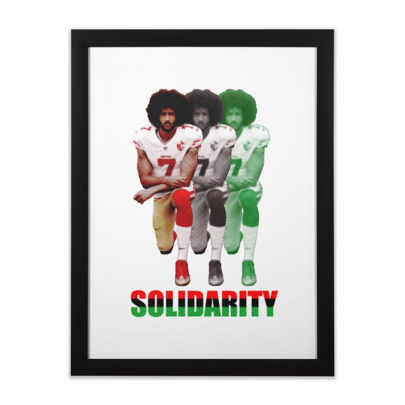 Solidarity Home Framed Fine Art Print by StencilActiv's Shop