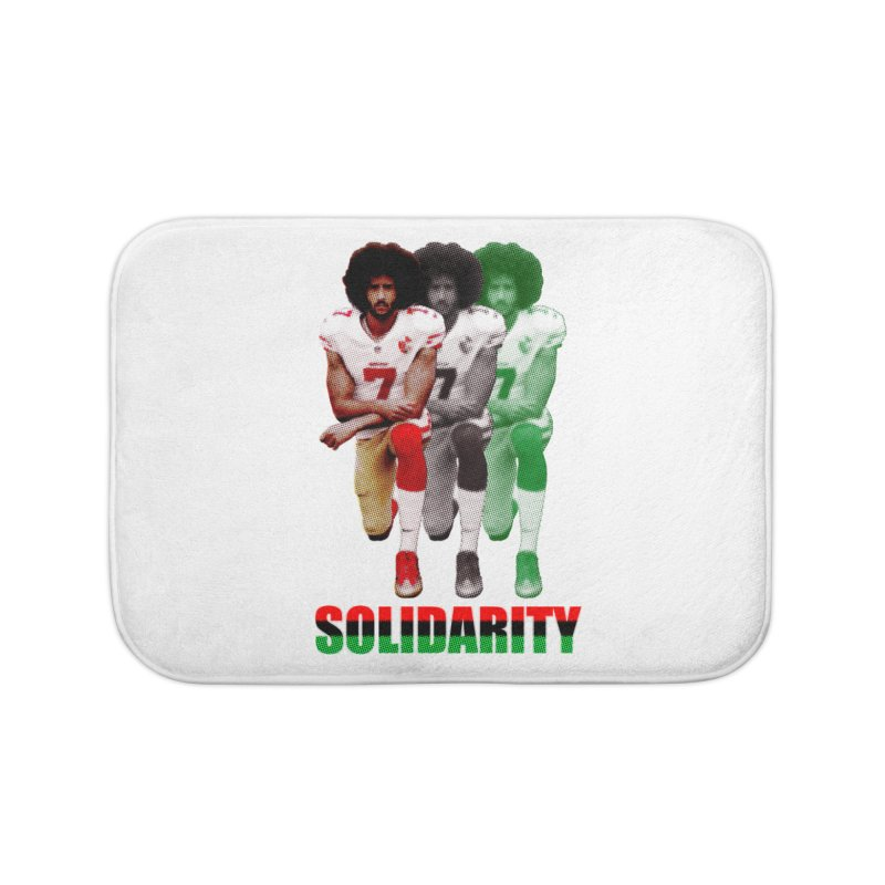Solidarity Home Bath Mat by StencilActiv's Shop