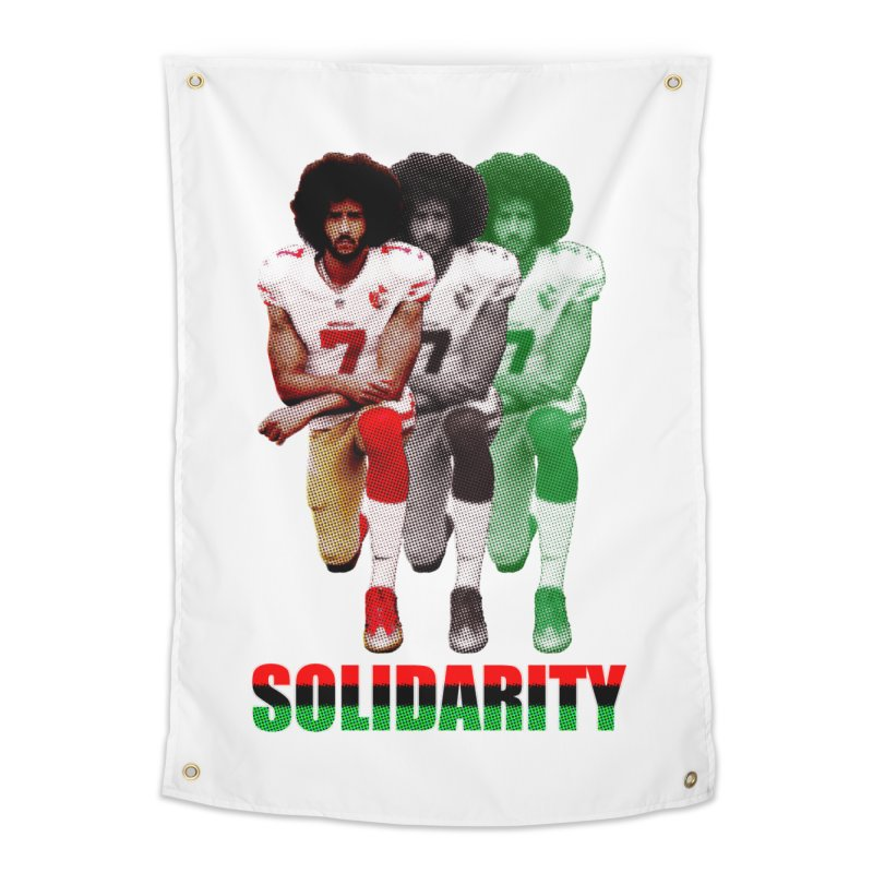 Solidarity Home Tapestry by StencilActiv's Shop