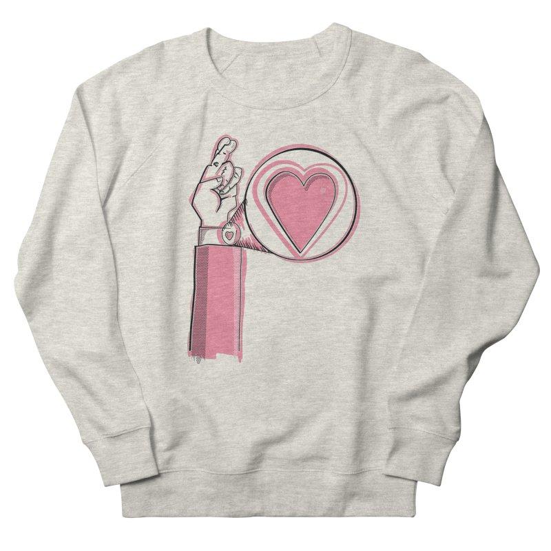 Heart on you sleeve Women's Sweatshirt by Stephen Harris Designs