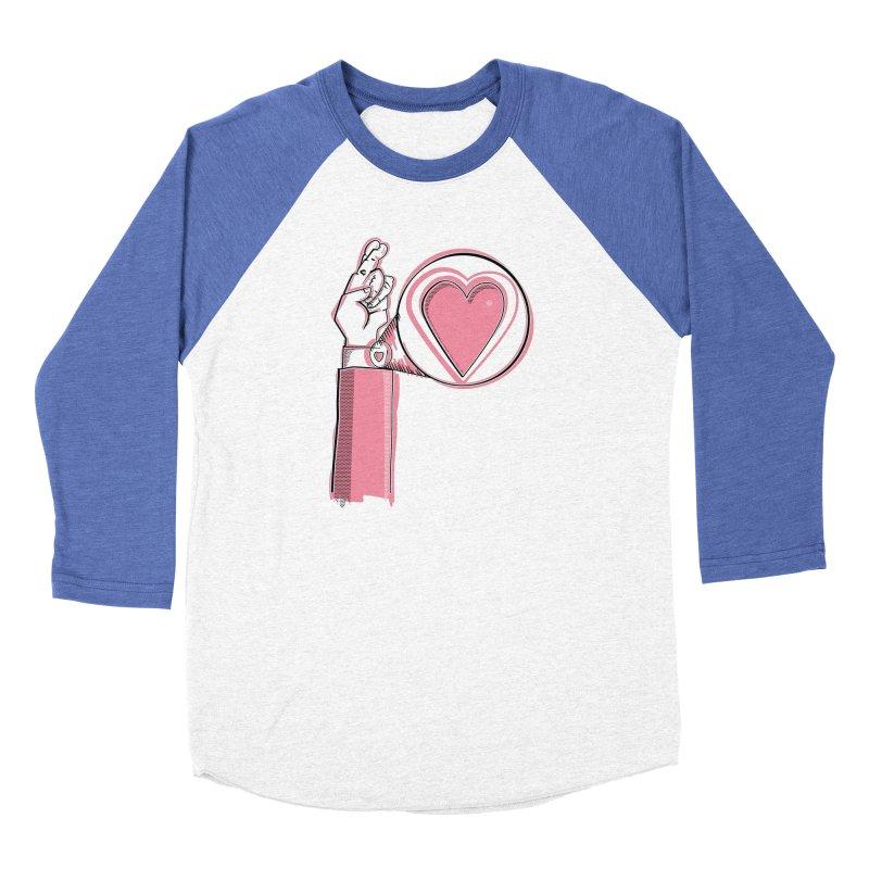 Heart on you sleeve Men's Longsleeve T-Shirt by Stephen Harris Designs