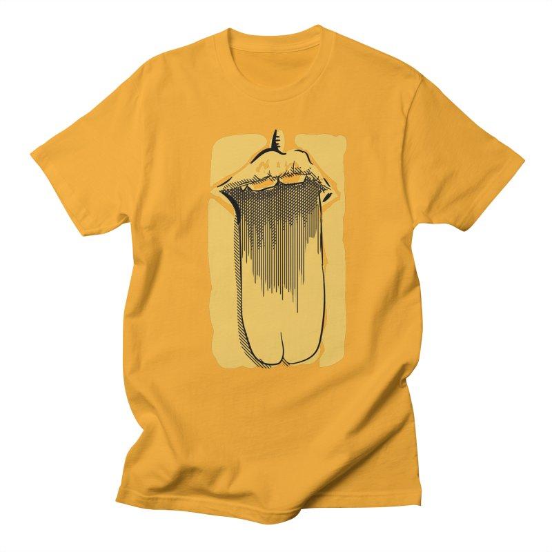 Tounge Men's Regular T-Shirt by Stephen Harris Designs