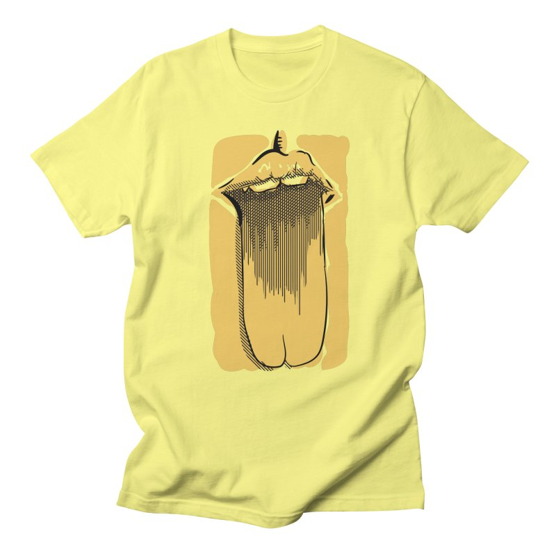 Tounge Men's T-Shirt by Stephen Harris Designs