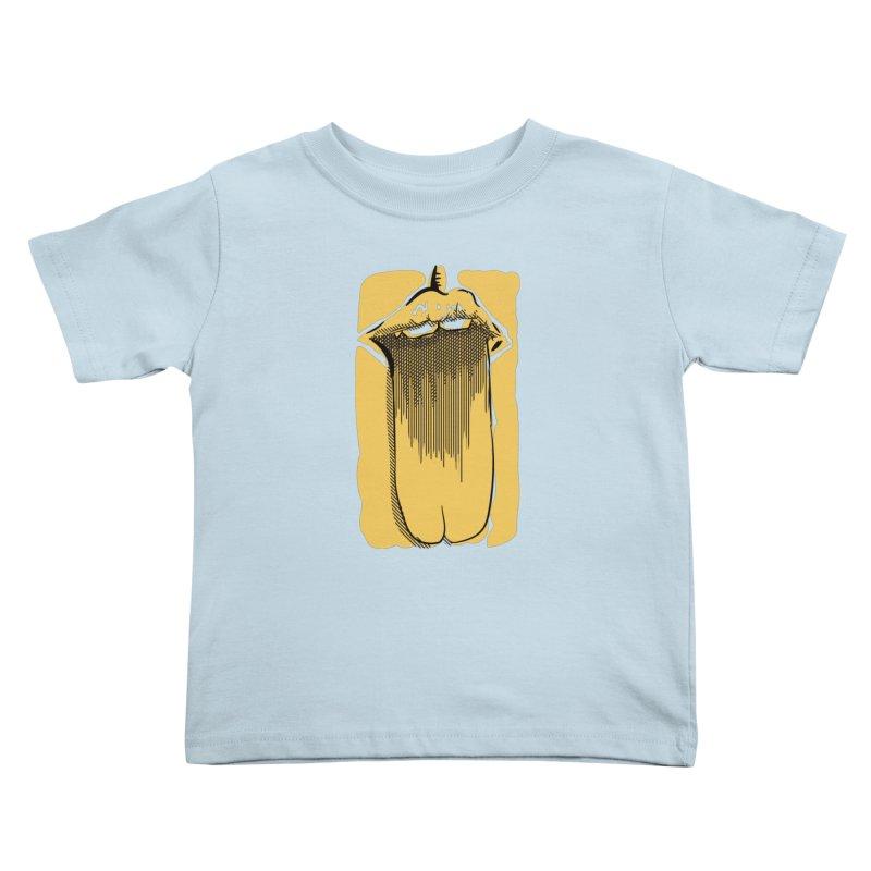 Tounge Kids Toddler T-Shirt by Stephen Harris Designs