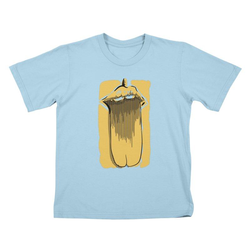 Tounge Kids T-Shirt by Stephen Harris Designs