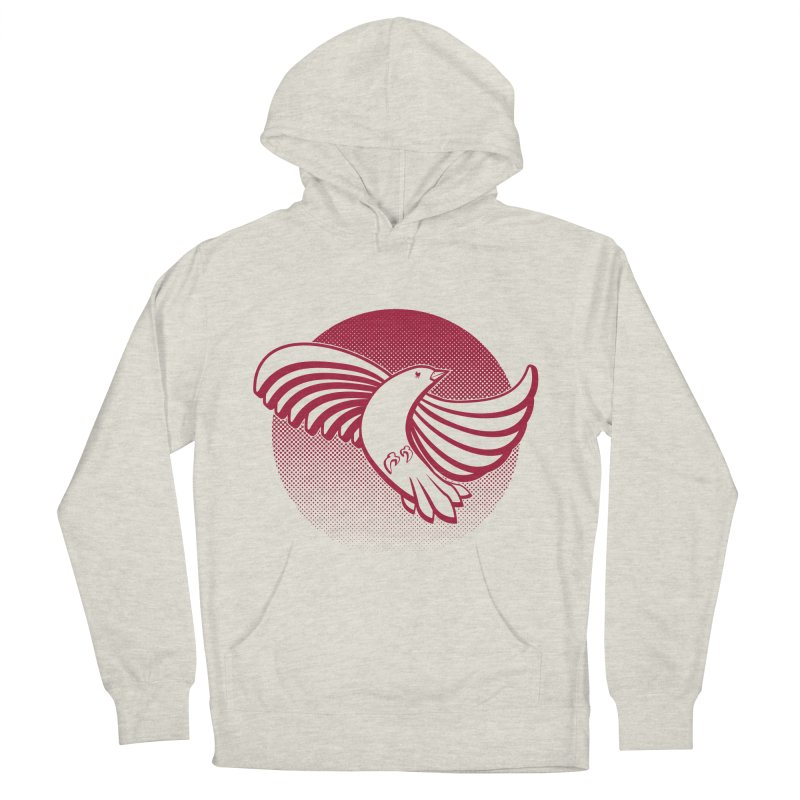 Up in the air Women's French Terry Pullover Hoody by Stephen Harris Designs