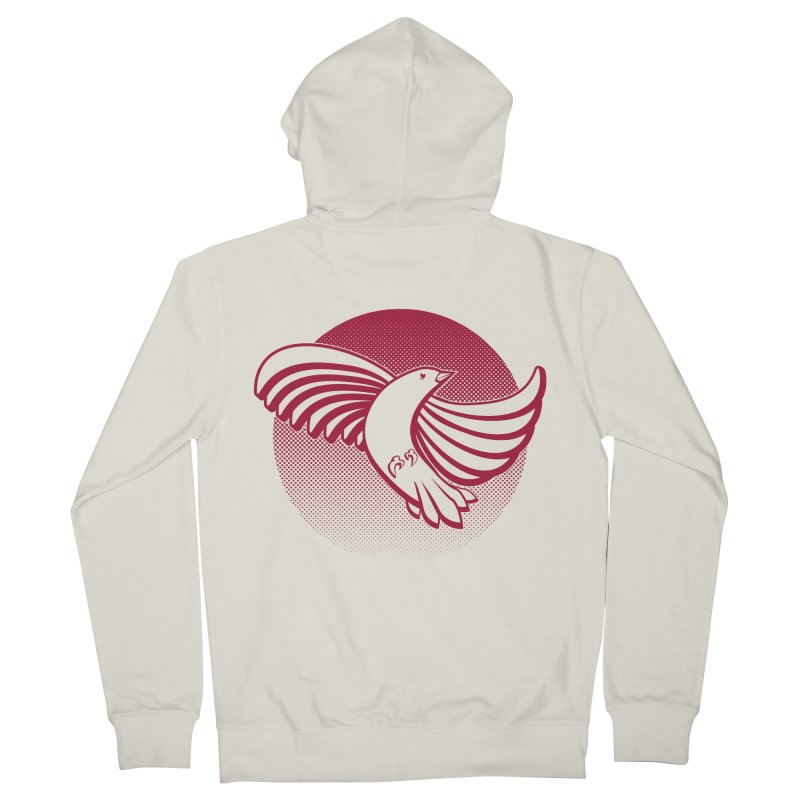 Up in the air Women's French Terry Zip-Up Hoody by Stephen Harris Designs