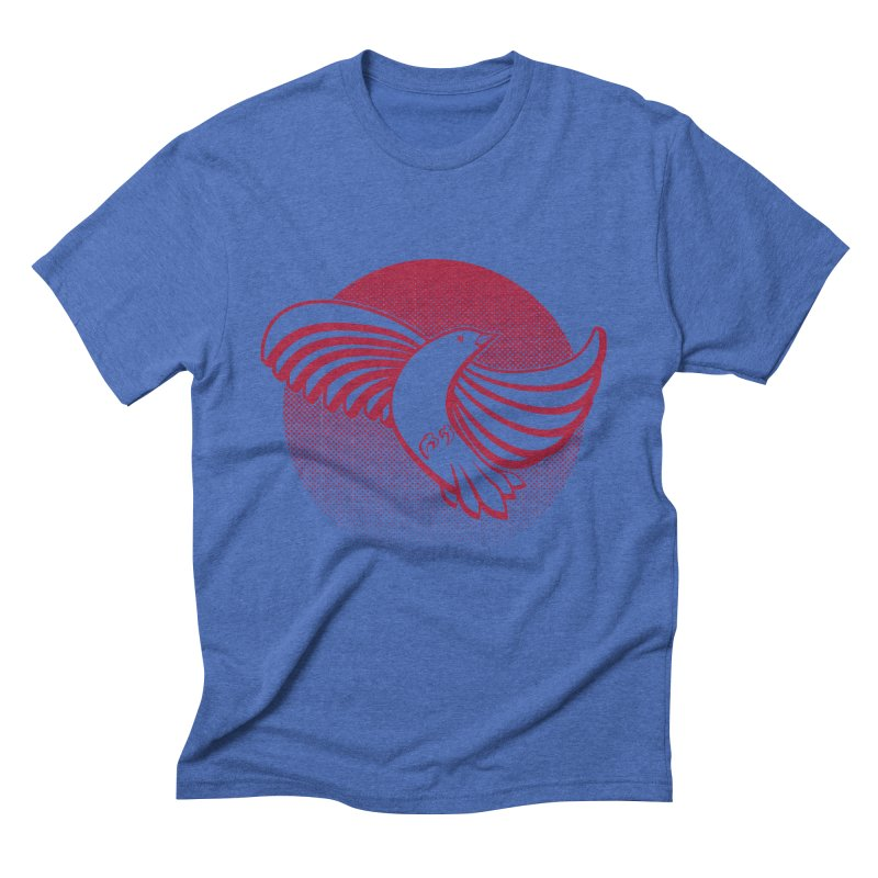 Up in the air Men's Triblend T-Shirt by Stephen Harris Designs