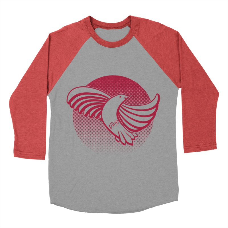Up in the air Women's Baseball Triblend Longsleeve T-Shirt by Stephen Harris Designs