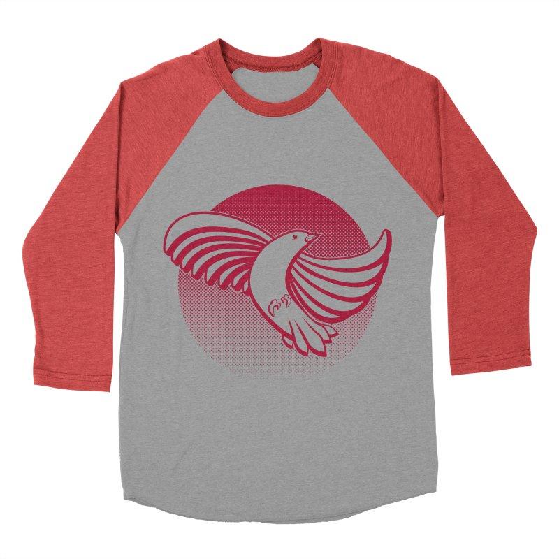 Up in the air Men's Baseball Triblend Longsleeve T-Shirt by Stephen Harris Designs