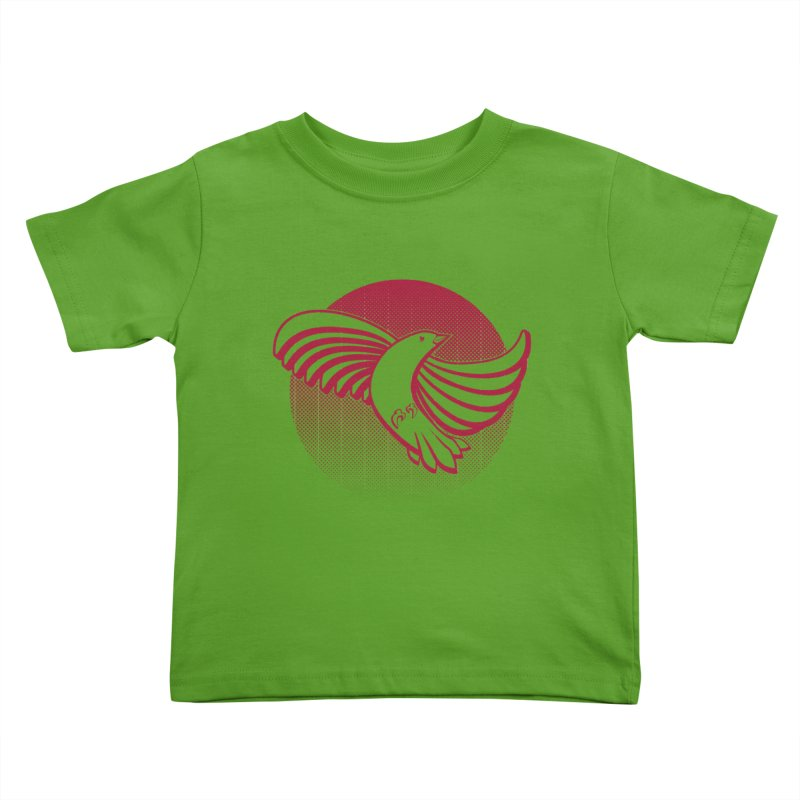 Up in the air Kids Toddler T-Shirt by Stephen Harris Designs