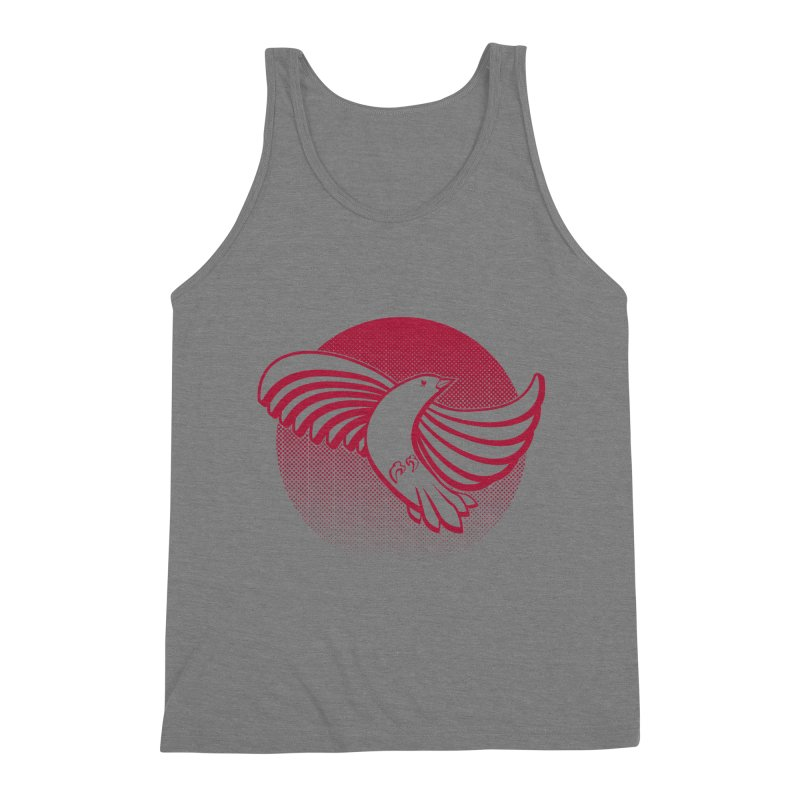 Up in the air Men's Triblend Tank by Stephen Harris Designs