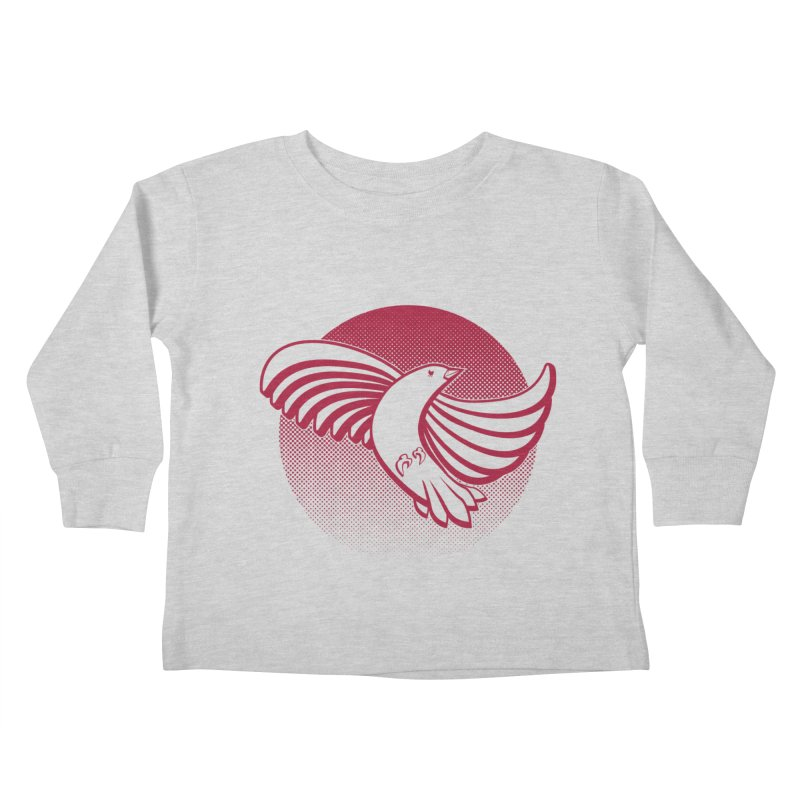 Up in the air Kids Toddler Longsleeve T-Shirt by Stephen Harris Designs