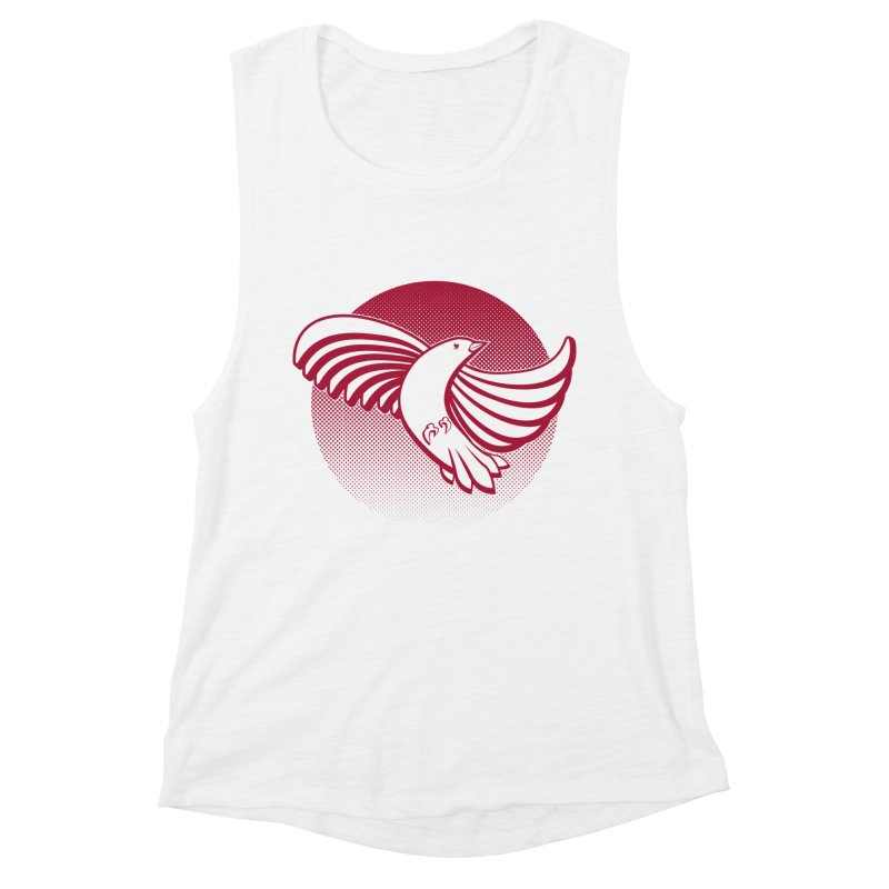 Up in the air Women's Muscle Tank by Stephen Harris Designs