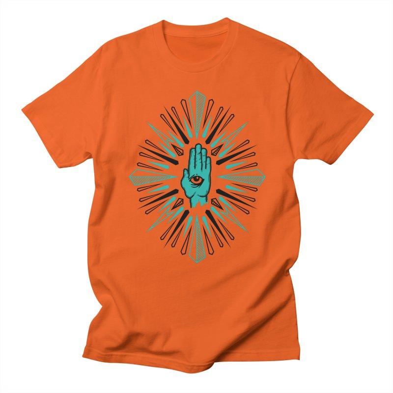 Hand-eye Coordination Men's Regular T-Shirt by Stephen Harris Designs