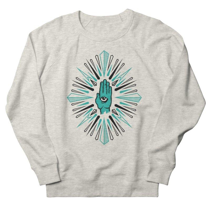 Hand-eye Coordination Women's French Terry Sweatshirt by Stephen Harris Designs