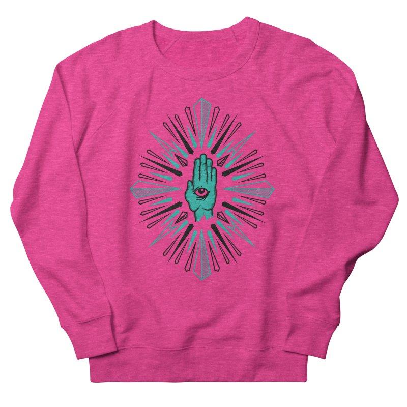Hand-eye Coordination Men's French Terry Sweatshirt by Stephen Harris Designs