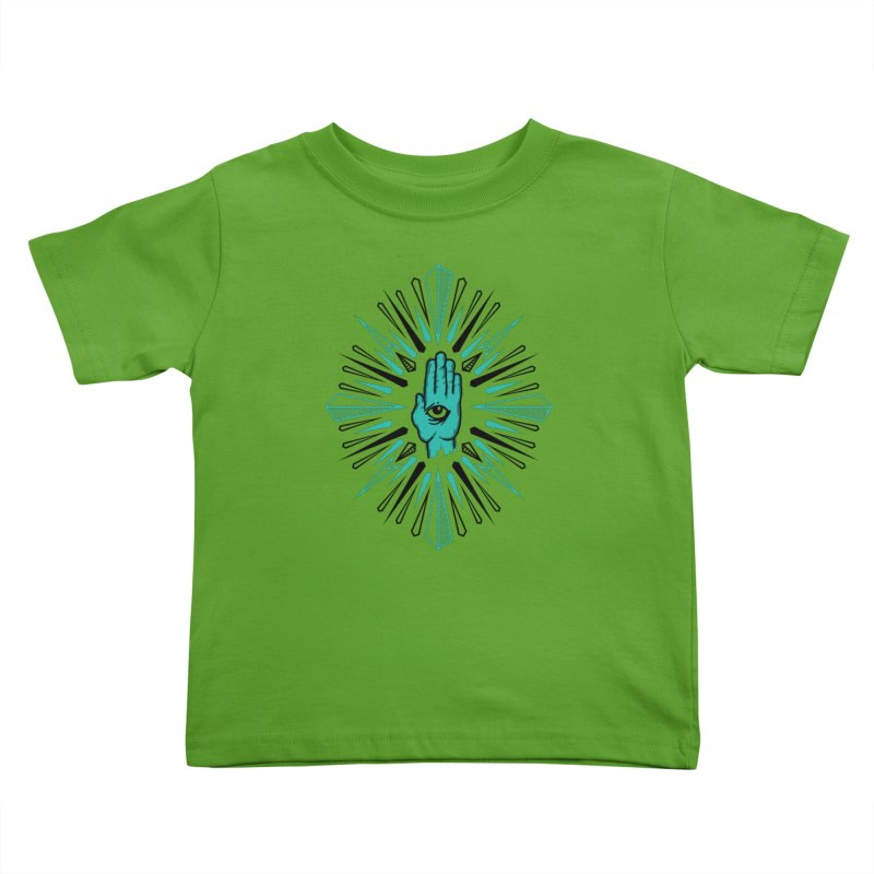 Hand-eye Coordination Kids Toddler T-Shirt by Stephen Harris Designs