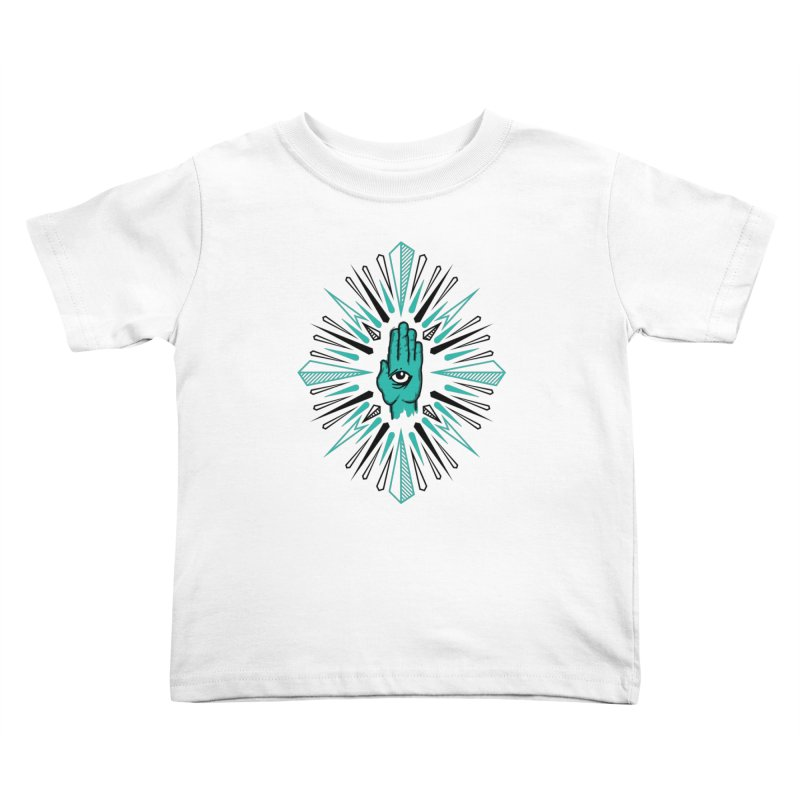 Hand-eye Coordination Kids Toddler T-Shirt by Stephen Harris Designs