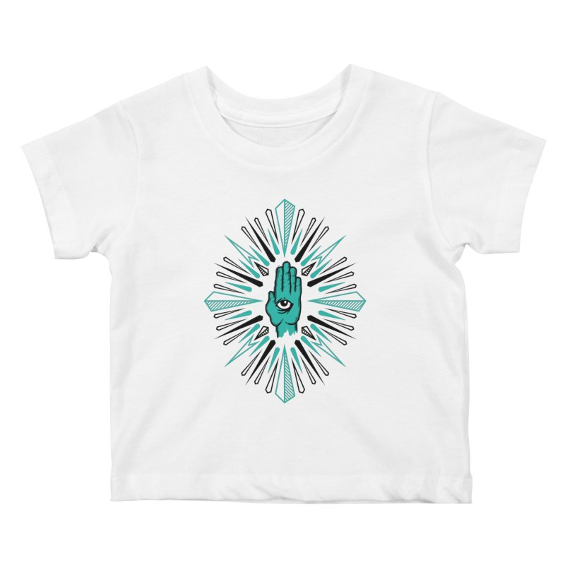 Hand-eye Coordination Kids Baby T-Shirt by Stephen Harris Designs