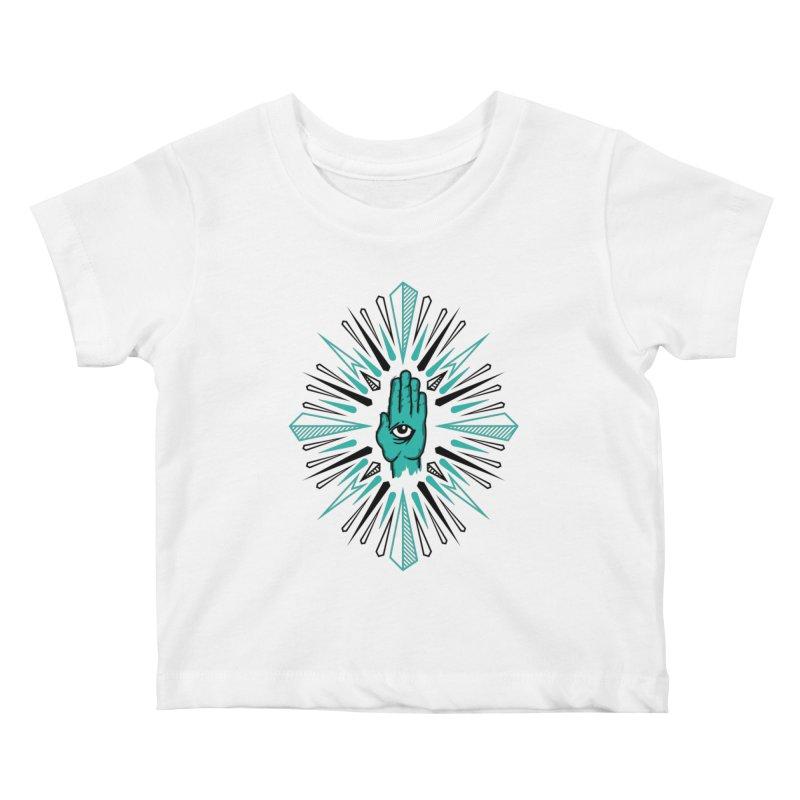 Hand-eye Coordination Kids Baby T-Shirt by Stephen Harris Designs